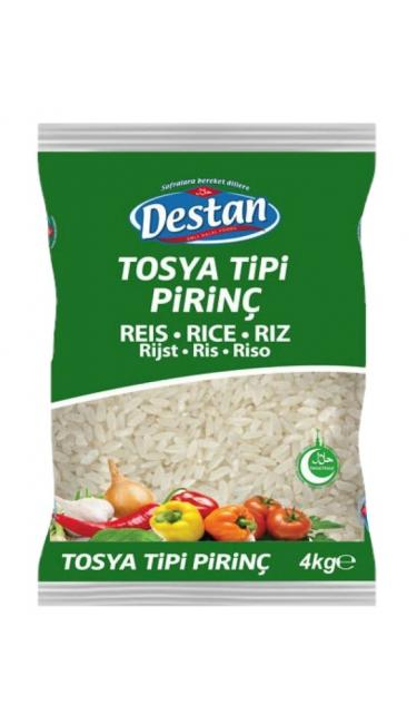 DESTAN PIRINC TOSYA TIPI 4 KG