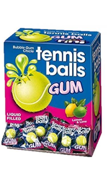 FINI TENNIS BALLS GUM 200 PCS
