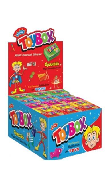 TOYBOX OYUNCAKLI SAKIZ (chewinggum avec jouet)