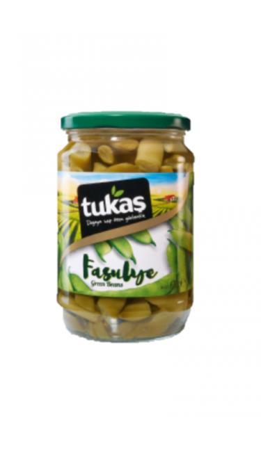 TUKAS TAZE FASULYE 720 CC (haricots coco)