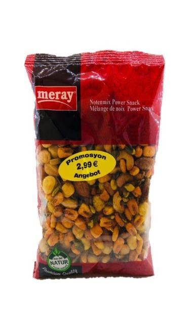 MERAY KARISIK MISIRLI-FINDKLI YENI URUN 12*250GR (mélange avec noix/maïs chili)