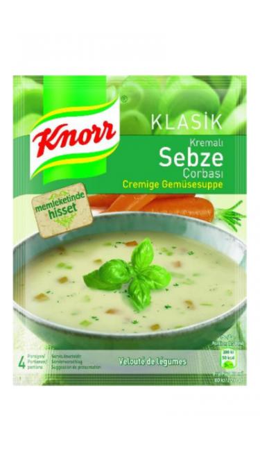 KNORR KREMALI SEBZE CORBASI 65 GR (soupe de légume a la creme)
