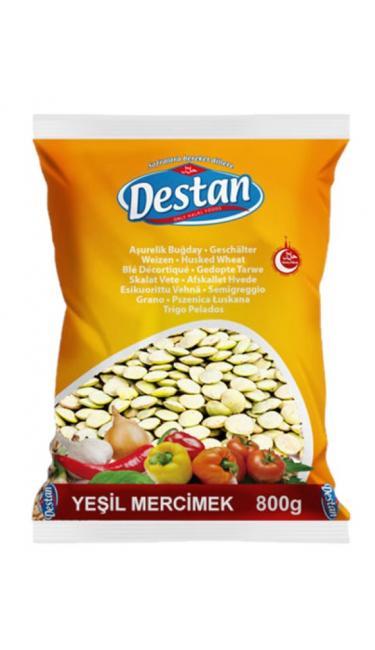 DESTAN YESIL MERCIMEK 800 GR (lentille verte)