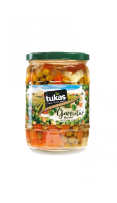 TUKAS GARNITURE 580 CC (garniture de légumes)