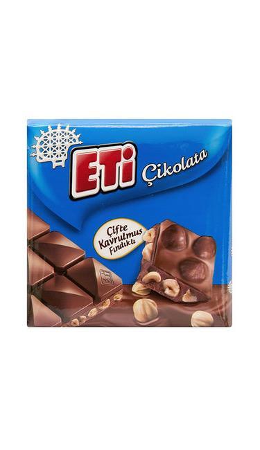 ETI SUTLU CIKOLATALI FINDIK 70 GR  (chocolat au noisette)