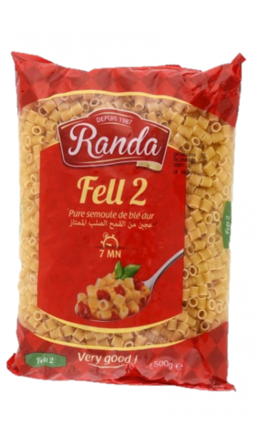 RANDA MAKARNA FELL2 - 500 GR (pates coquillettes)