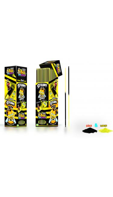 X-TREME JOHNY BEE STRAWS LEMON&COLA 250 PIECES