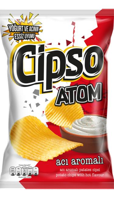 DOGUS ATOM 114 GR (chips piquante)