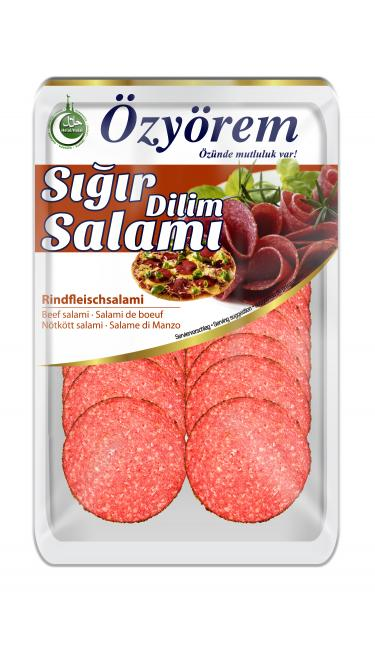 OZYOREM SIGIR DILIM SALAMI 80 GR (PIZZA) (tranches de salami boeuf)