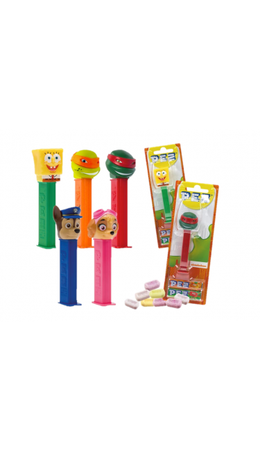 PEZ BEST OF NICKELODEON