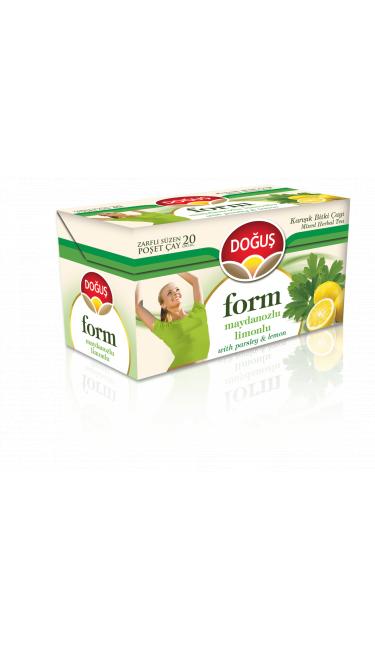 DOGUS FORM LIMON VE MAYDANOZLU 20'ER (thé minceur citron et persil)