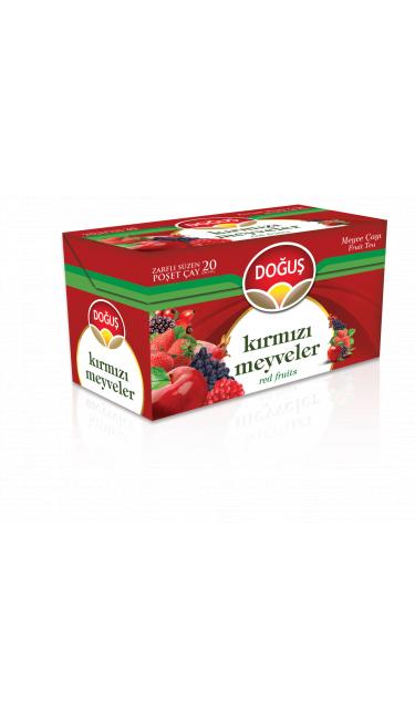 DOGUS KIRMIZI MEYVELER CAYI 20'ER (infusion de fruits rouges)