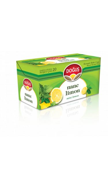 DOGUS NANE-LIMON CAYI 20'ER (infusion menthe citron)