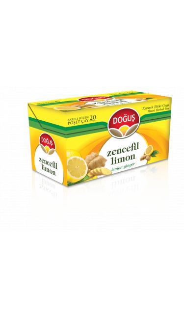DOGUS ZENCEFILLI LIMON CAYI 20'ER (infusion gingembre et citron)