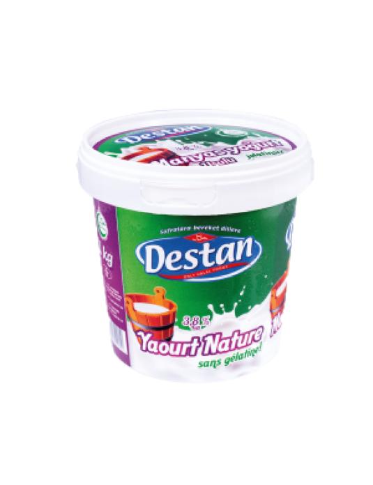 DESTAN YOGURT KAYMAK 3.8 % 1 KG ( yaourt 3,8% mat.gr )