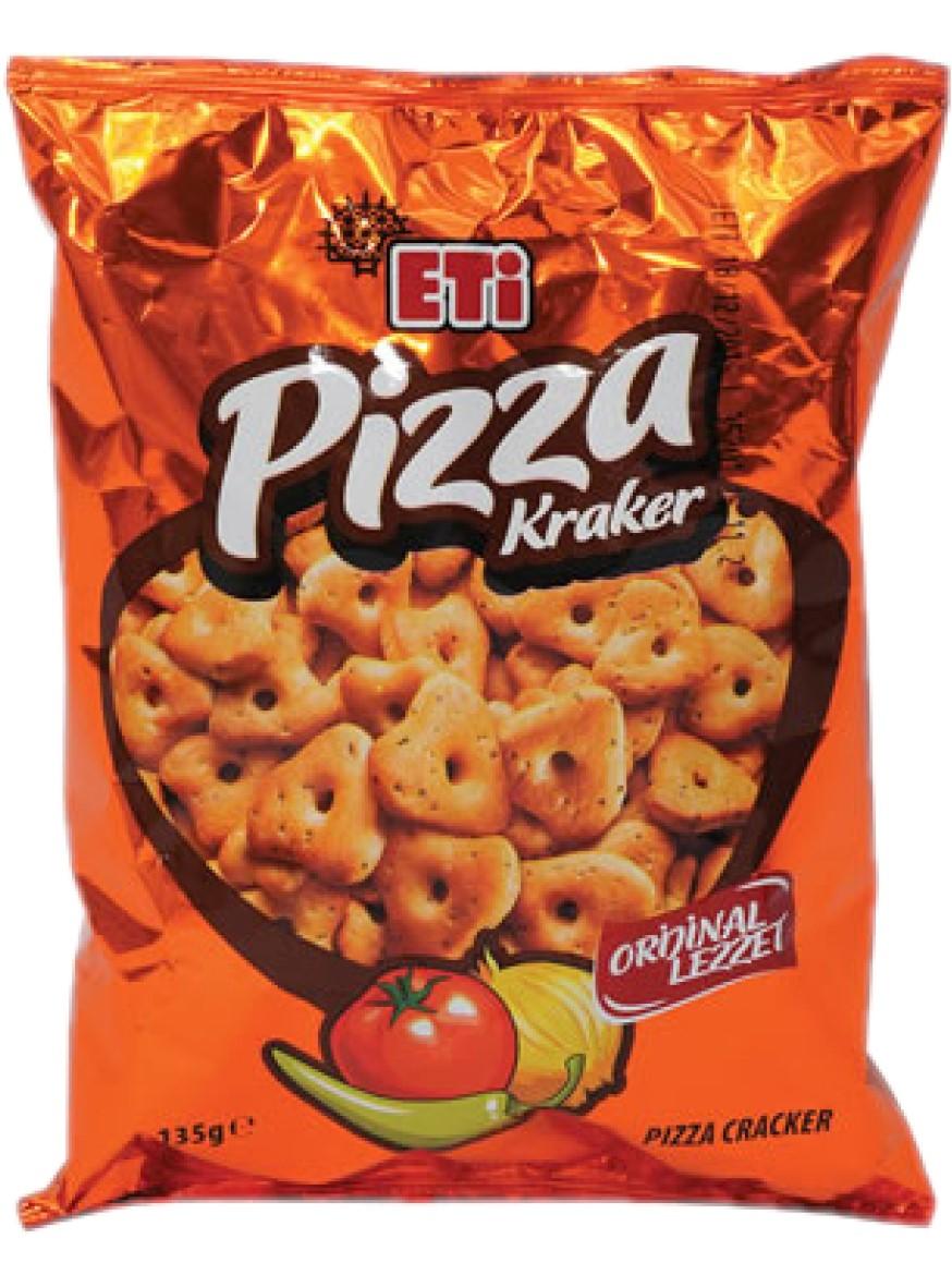 ETI PIZZA KRAKER 95 GR (cracker goût pizza) yeni