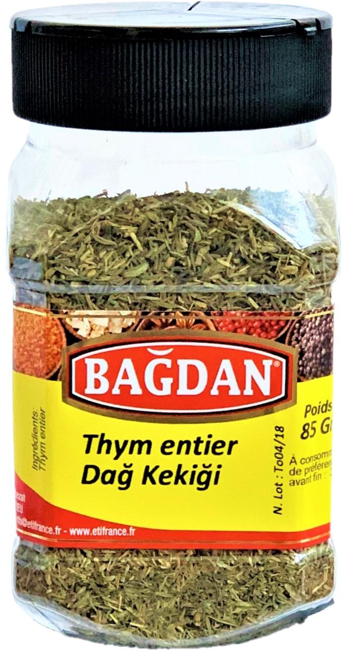 BAGDAN DAG KEKIGI PET KAVANOZ 12x85gr (thym feuilles pot plastique)