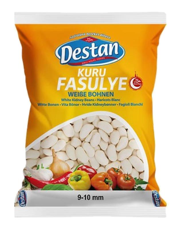DESTAN FASULYE(BUYUK) 800 GR (haricots secs blancs)