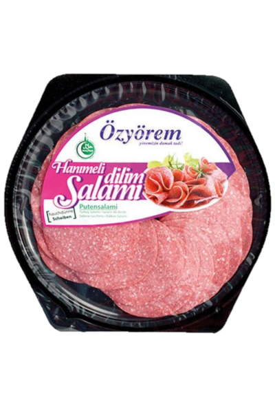 OZYOREM HANIMELI DILIM SALAMI 80 GR (tranches de salami)