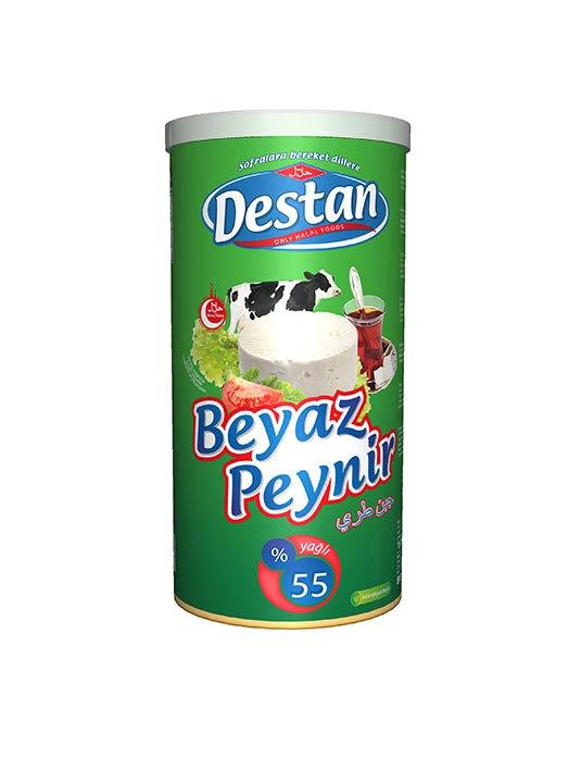 DESTAN PEYNIR 55 % 800 GR (fromage feta turc 55% de mat.gr.)