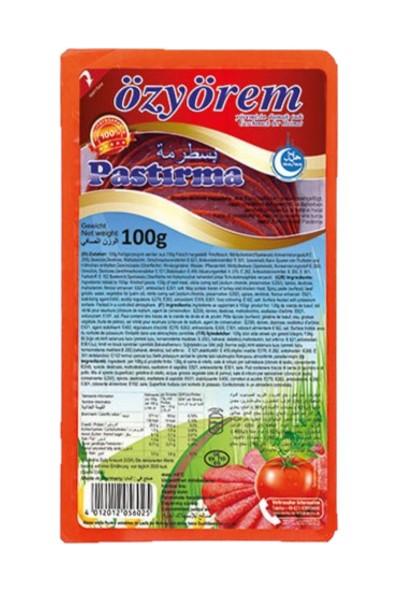 OZYOREM PASTIRMA DILIM 100 GR PROMO (tranches de viande fumée)