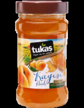 TUKAS RECEL KAYISI 320 CC 380 GR (confiture d'abricots)