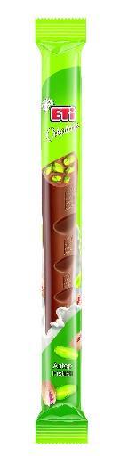 ETI CIKOLATA KEYFI PISTACHE 34 GR (chocolat au lait avec pistaches)