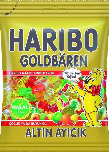 HELAL HARIBO ALTIN AYICIK 100 GR (bonbons gélifiés oursons)