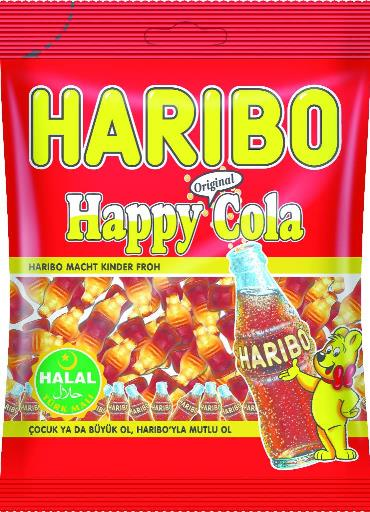 HELAL HARIBO HAPPY COLA 100 GR (bonbons gélifiés cola)