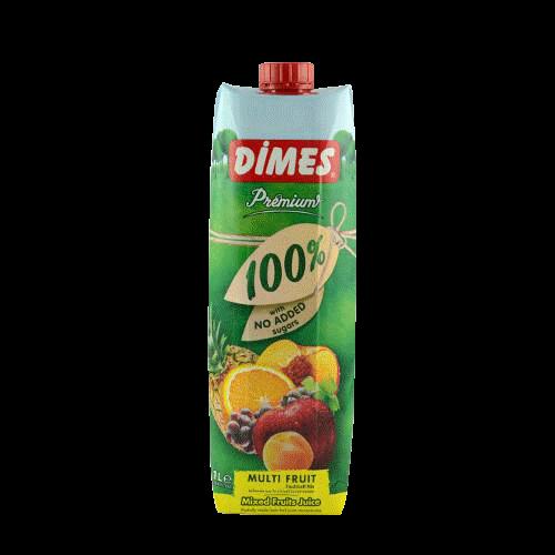 DIMES PREMIUM 100% KARISIK MEYVE SUYU ( 100% jus de fruits)