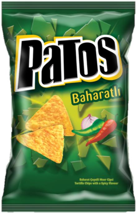 DOGUS PATOS BAHARATLI 125 GR (chips épicés)