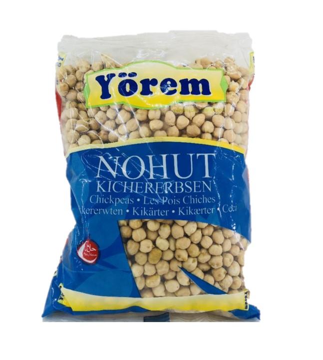 YOREM NOHUT/KOCBASI 12MM 1000 GR (pois-chiche)