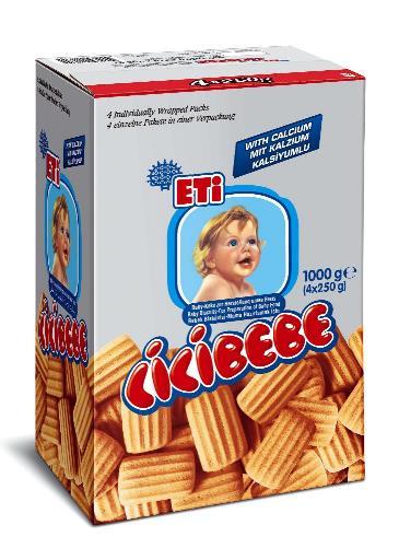 ETI CICI BEBE 4' LU 1KG (biscuits pour bébé)