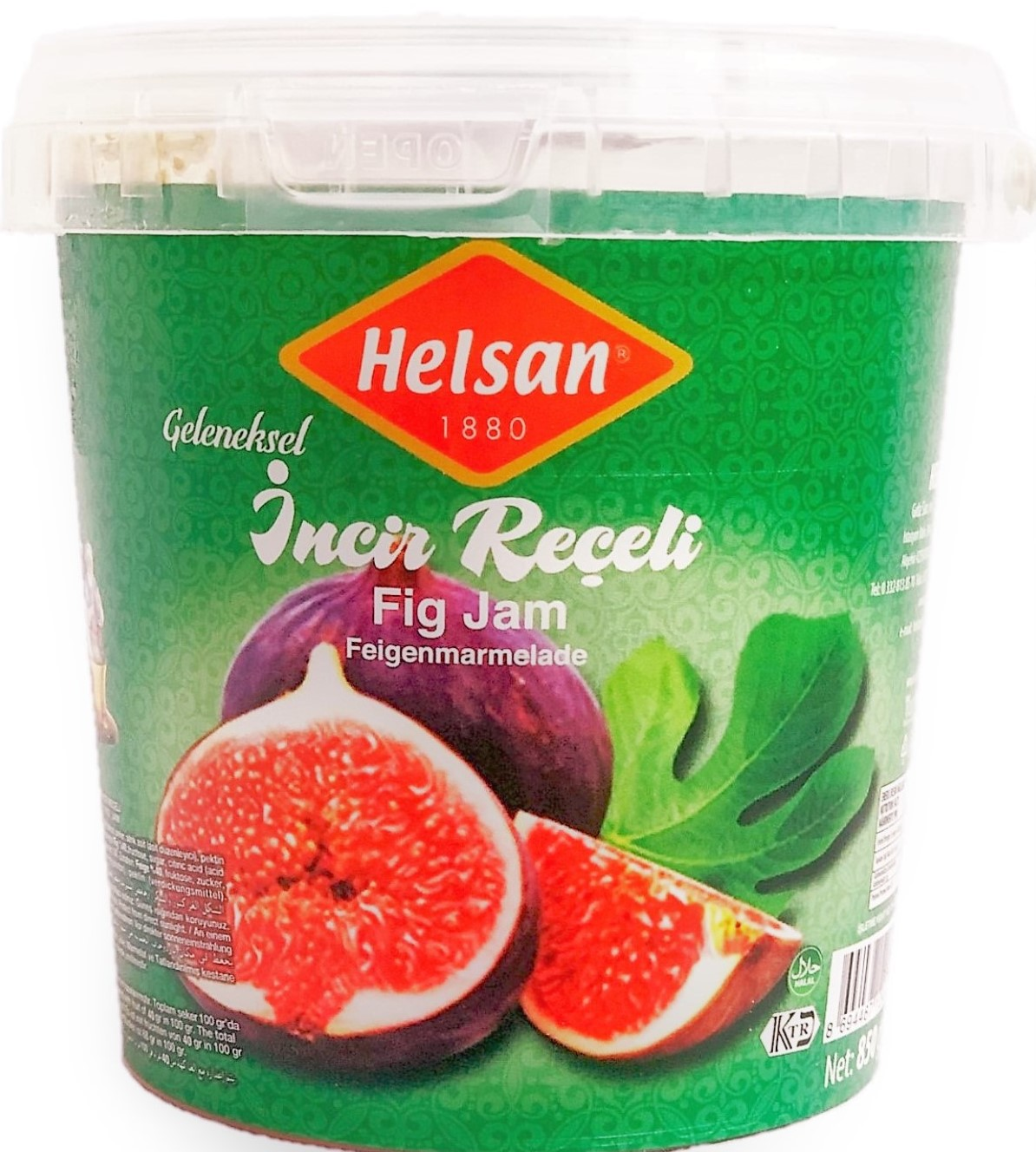 HELSAN RECEL INCIR 900gr PET (confiture de figue)