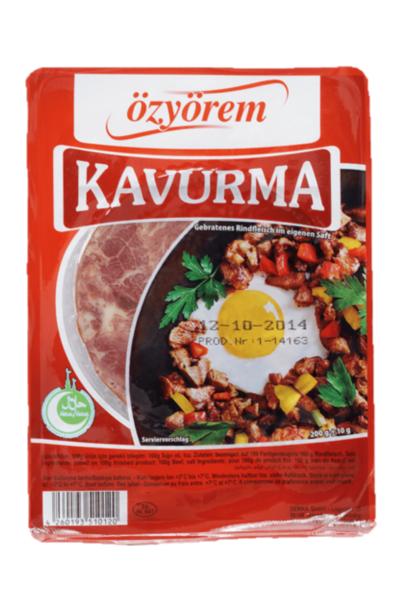 OZYOREM KAVURMA 200 GR (viande rotie sous-vide)