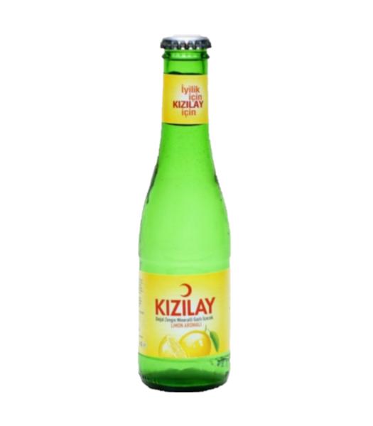KIZILAY LIMON 200 ML X24 (eau gazeuse au citron)