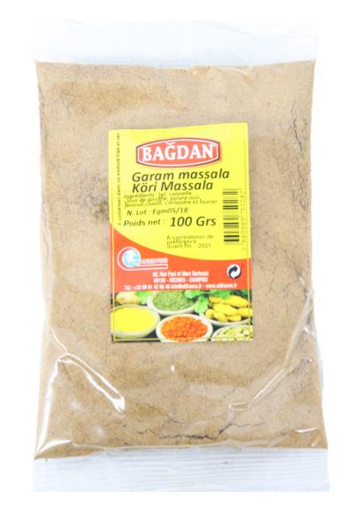 BAGDAN EPICE GARAM MASSALA 100 GR