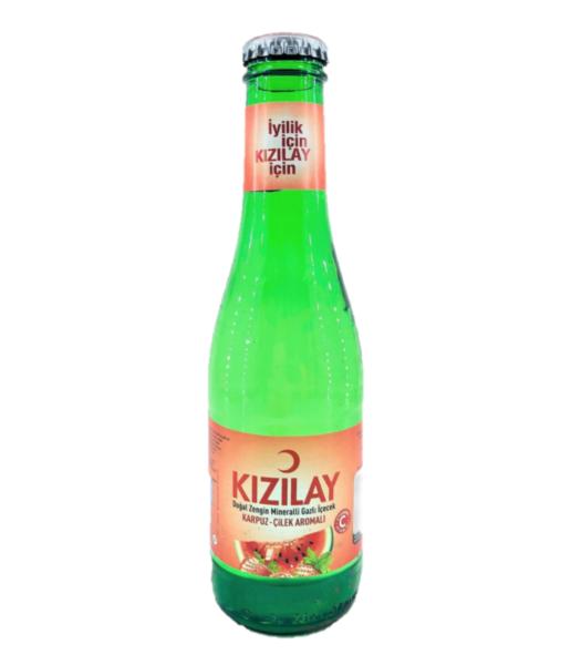 KIZILAY CILEK-KARPUZ 200 ML X24 (eau gazeuse fraise-pastèque)