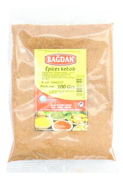 BAGDAN KEBAB HARCI 100 GR (epices kebab)