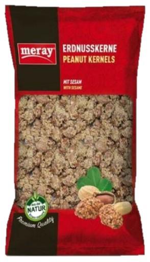 MERAY YER FISTIK SUSAMLI 250 GR (cacahuètes aux grains de sésame)