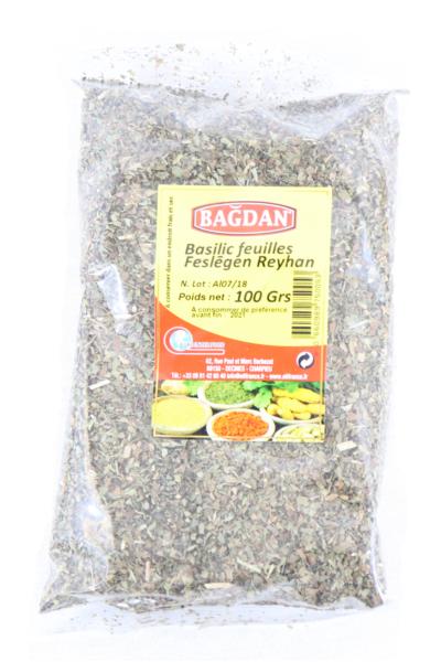 BAGDAN FESLEGEN YAPRAGI 100 GR (basilic feuilles)