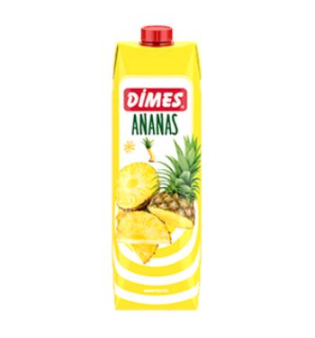 DIMES ANANAS 1 LT ( jus d'ananas)