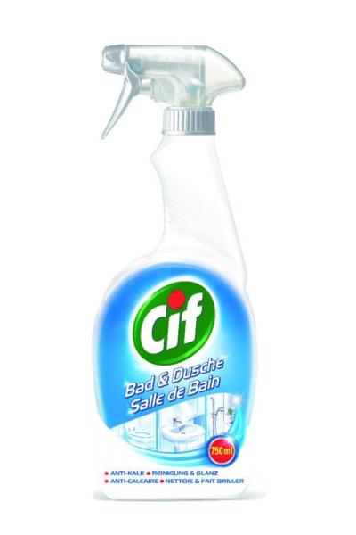 CIF BAD&DUSCHE 750 ML (spray nettoyant salle de bain)