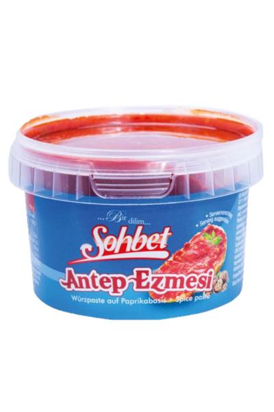 SOHBET ANTEP EZMESI 250 GR (sauce epicée à tartiner )