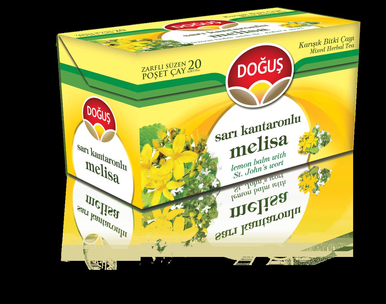DOGUS SARI KANTARONLU MELISA CAYI 20 'ER (tisane millepertuis-melisse)