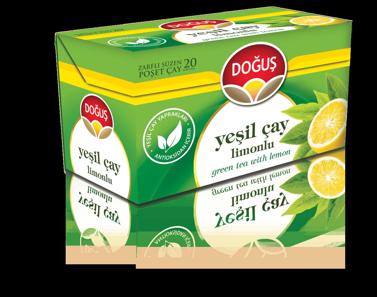 DOGUS YESIL CAY LIMONLU 20'ER (the vert au citron)